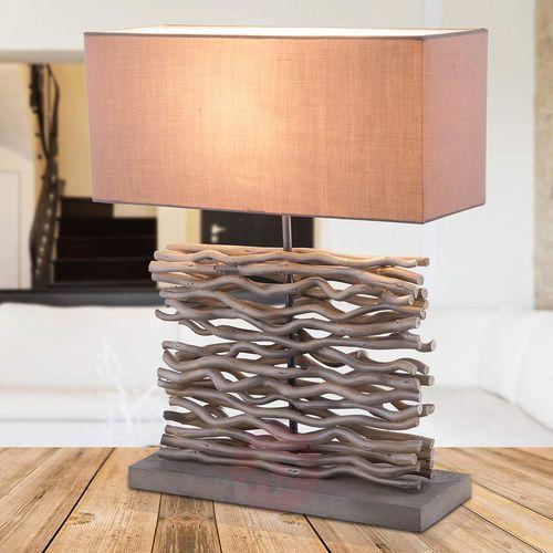 jamie lampa stołowa siwy, 1-punktowy - - obszar wewnętrzny - jamie - czas dostawy: od 4-8 dni roboczych marki Globo