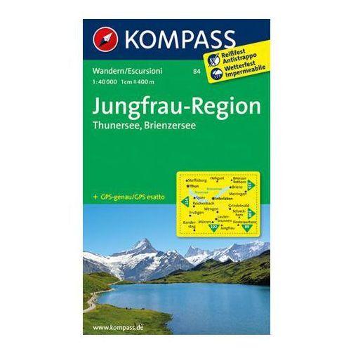 Kompass Karte Jungfrau-Region - Thunersee - Brienzersee (2016)