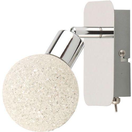 Kinkiet Zuma Line Isla CK99898-1 lampa ścienna spot 1x4W LED chrom / biały >>> RABATUJEMY do 20% KAŻDE zamówienie, CK99898-1