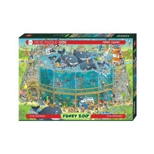 1000 elementów funky zoo podwodne życie marki Heye
