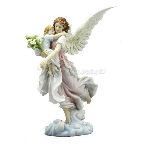 Anioł stróż z dzieckiem na rękach kolor (wu73501aa) marki Veronese
