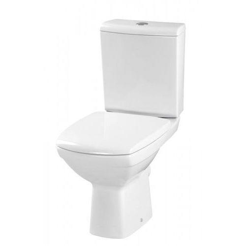 CERSANIT CARINA Kompakt WC, odpływ poziomy, deska twarda K31-011, K31-011