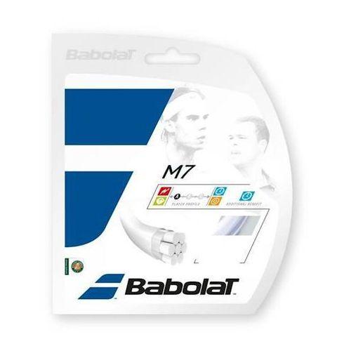 Naciąg tenis ziemny m7 1,30mm 132199 biały 12m set marki Babolat