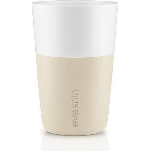 Eva Solo - Zestaw 2 filiżanek do latte, beżowy - 0,36 l, 501081