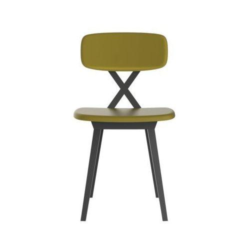 krzesło x z poduszką musztardową 16003gm marki Qeeboo