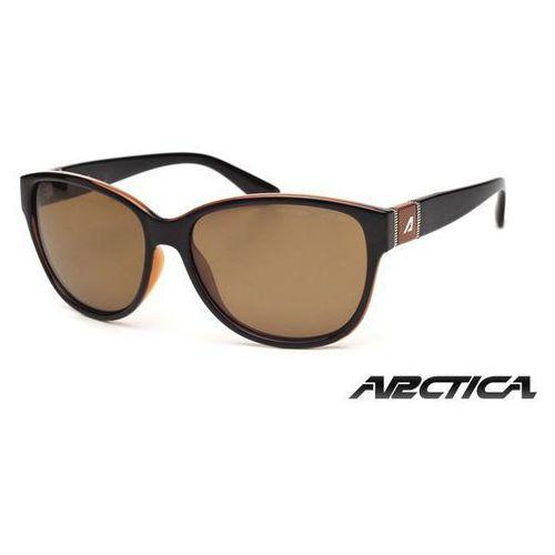 Okulary damskie Arctica S-227A brązowy z polaryzacją