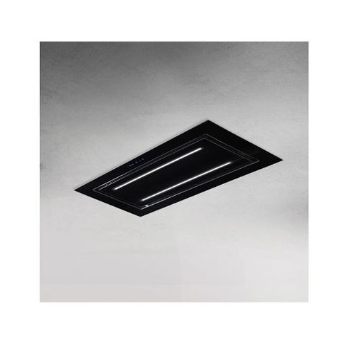 Afrelli Okap sufitowy elegante czarny 96 cm, 805 m3/h