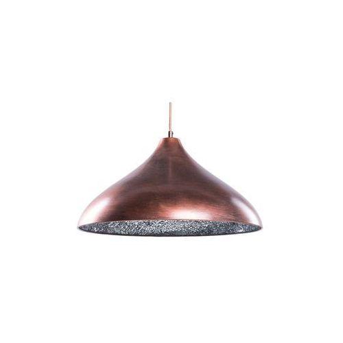 Lampa brązowo-miedziana - sufitowa - żyrandol - lampa wisząca - ISKAR (4260580922116)