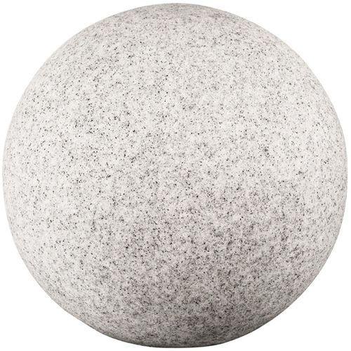 Kanlux Lampa stojąca stono 24653 lampa ogrodowa kamień zewnętrzna kula 1x25w e27 ip65 jasnoszary (5905339246530)