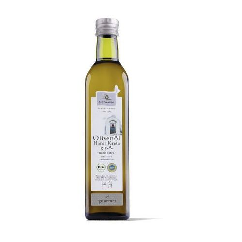 Oliwa z oliwek extra virgin kreta bio 500 ml - bio planete marki Bio planete (oleje i oliwy)