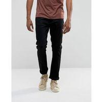 co dude dan straight fit jean dry ever black - black, Nudie jeans