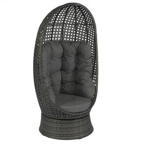 Fotel obrotowy technoratan kosz ogrodowy dobrebaseny