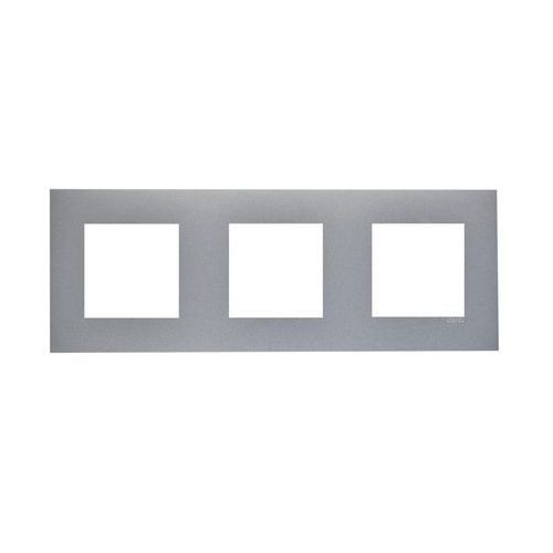 Efapel Ramka potrójna quadro aluminium (5603011623821)