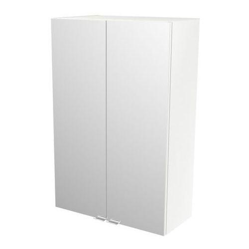 Goodhome Szafka z lustrem imandra 60 x 90 x 36 cm biała