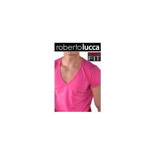 V koszulka regular fit 70224 01423, Roberto lucca