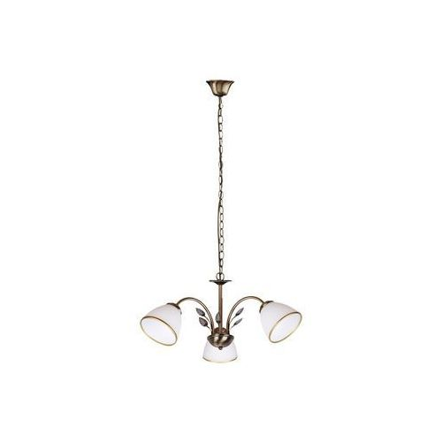 Rabalux Lampa wisząca zwis oprawa aletta 3x40w e14 brązowa 2779 (5998250327792)
