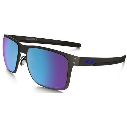 Oakley Holbrook Metal Okulary rowerowe szary/niebieski 2018 Okulary przeciwsłoneczne (0888392269805)