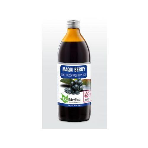 Maqui berry 100% sok em 0,5l marki Ekamedica