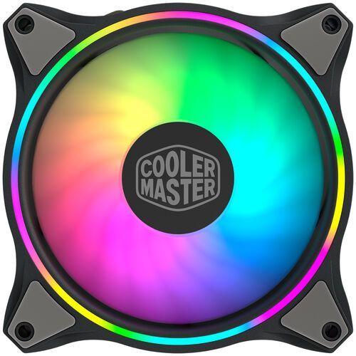Cooler master zestaw wentylatorów do zasilacza/obudowy masterfan mf120 halo 3w1 argb (4719512095393)