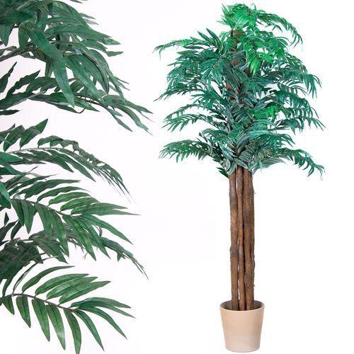 Plantasia ® Sztuczne drzewo areca palma kwiaty drzewko