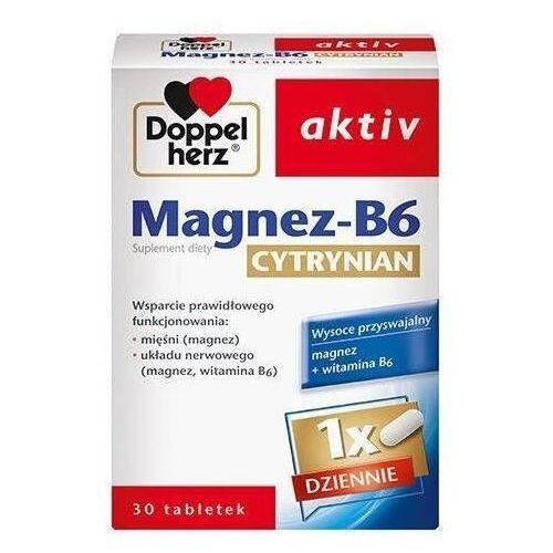 Tabletki Doppelherz Aktiv Magnez-B6 Cytrynian x 30 tabletek