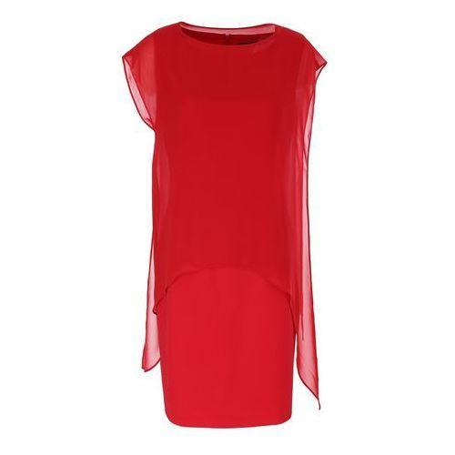 Sukienka 6547 (Rozmiar: 46, Kolor: czerwony), 1 rozmiar