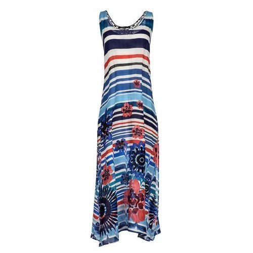 88ced1685b Desigual sukienka damska Flora M niebies.