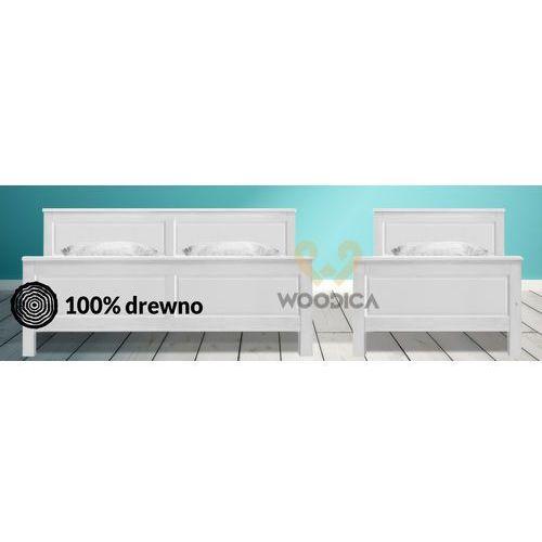 Łóżko parma 48 i 120x200 marki Woodica