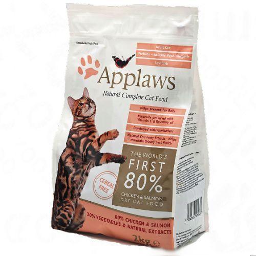 adult cat chicken&salmon bezzbożowa karma dla kotów kurczak z łososiem opak. 400g/2kg/7,5kg marki Applaws