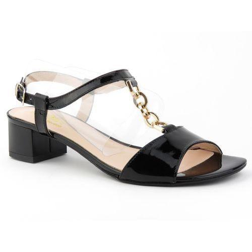 Sandały damskie Eksbut 3079 - czarny, kolor czarny