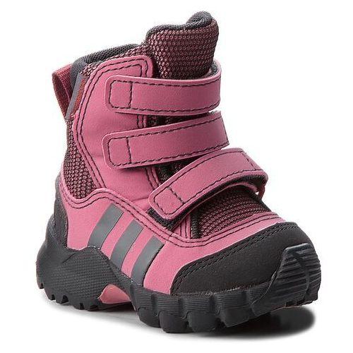 Śniegowce adidas - Cw Holtanna Snow Cf I D97660 Tramar/Carbon/Grefou