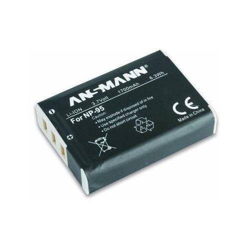 Akumulator do fujifilm a-fuj np 95 (1700 mah) marki Ansmann
