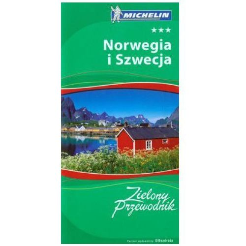 OKAZJA - Michelin Norwegia i Szwecja Zielony przewodnik PROMOCJA