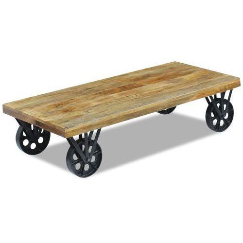vidaXL Stolik z drewna mango 120x60x30 cm