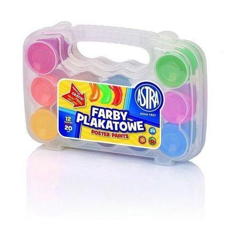 Astra papiernicze Farby plakatowe 12/20ml walizka (5901137102481)