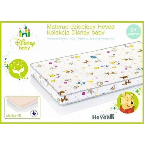 Dziecięcy materac wysokoelastyczny Hevea Disney Baby 70x160, Hevea