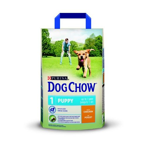 PURINA Dog Chow Puppy Chicken 2,5kg, 4074
