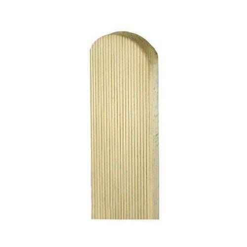 Sztacheta drewniana 120 x 9 x 2 cm ryflowana marki Sobex