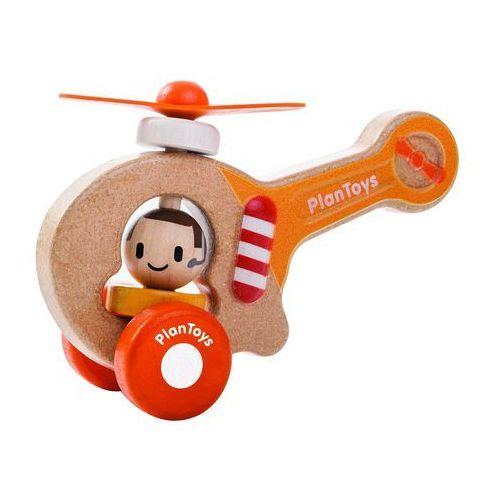 Plan toys Eko helikopter z ludzikiem i ruchomymi śmigłami, , plto 5685