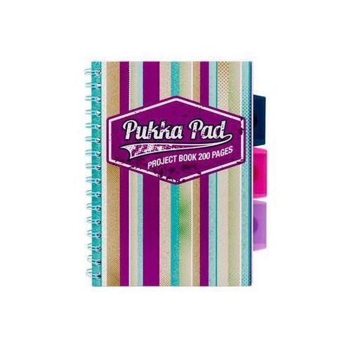 Kołozeszyt project book americano 6985 a5/200k. kratka marki Pukka-pad