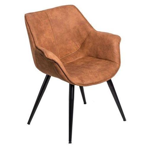 Krzesło Lord - brązowy jasny, kolor brązowy
