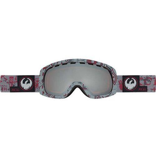 Dragon Gogle snowboardowe  - rogue - tribe red/ionized + dark smoke (453) rozmiar: os