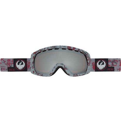 gogle snowboardowe DRAGON - Rogue - Tribe Red/Ionized + Dark Smoke (453) rozmiar: OS