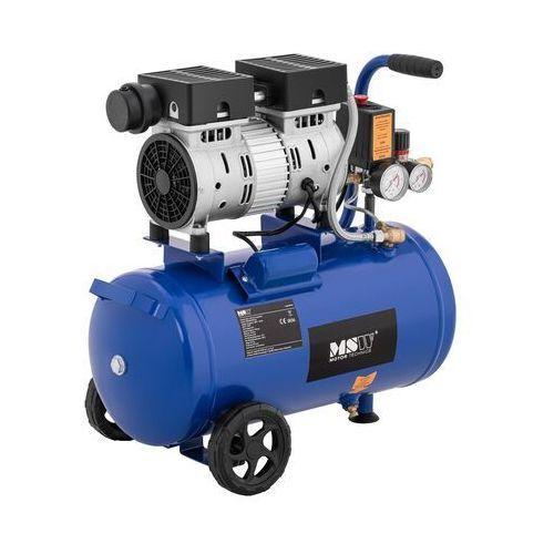 kompresor bezolejowy - 550 w - 24 l - 8 bar msw-0ac550-24l - 3 lata gwarancji marki Msw
