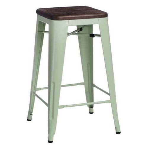 D2design Hoker paris wood 75cm zielony sosna szcz otkowana (5902385727440)
