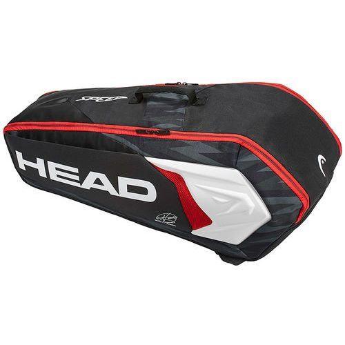 Head Djokovic 6R Combi Black White