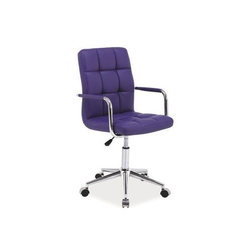 Fotel obrotowy, krzesło biurowe Q-022 purple, Q-022 PU