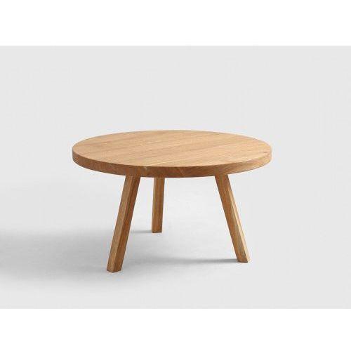 Customform Stoliczek drewniany treben 80- kolor naturalny, dąb