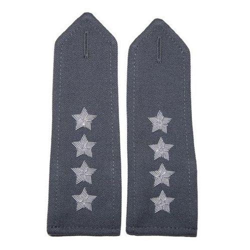 Pagony stalowe do koszulo-bluzy Wojska Polskiego - kapitan - nowy wzór