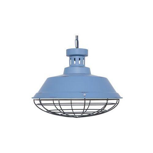 Lampa wisząca niebieska sormonne marki Beliani